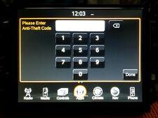 Ra3/Ra4 Radio Unlock Code Anti Theft Ram, Jeep, Dodge, Chrysler 8.4 Vp3/Vp4