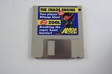 AMIGA azione Copertina del disco il caos MOTORE ZOOL testato funzionante