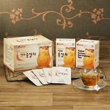 PUFFED RED GINSENG TEA Korean Easy Simply Health Herb Extract Panax Paperbag New