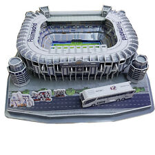 3D Real Madrid Replica Bernabeu Football Stadium Puzzle - 160 Pieces Gift Model