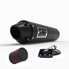 HMF Performance Slip On Exhaust Pipe Black Euro Cap EFI Optimizer K&N YFZ 450R