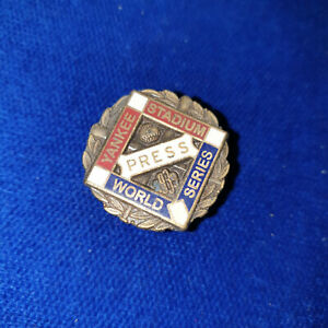 1939 New York Yankees World Series Baseball Press Pin