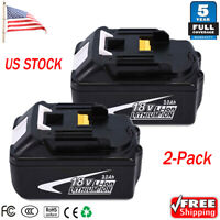 2x New 18V 3.0AH Lithium-Ion LXT Battery For Makita BL1830 BL1815 BL1840 18 Volt