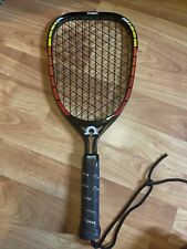 Vintage OMEGA Graphite Galaxy 100G 4/7100 Racquetball Racket 9oz Light Weight