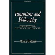 Feminism and Philosophy: Perspectives on Difference and Equality-ExLibrary