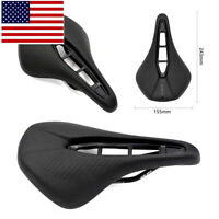 Carbon Mountain Road Bike Saddle MTB Comfort Cycling Bicycle Seat Cushion Pad