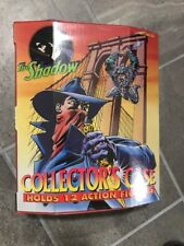 """Vintage 1994 """"The Shadow"""" Collector's Vinyl 12 Action Figure Carrying Case"""