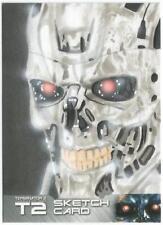 Terminator 2 Judgment Day Sketch Card drawn by Garrett Dix