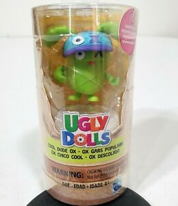 Hasbro Ugly Dolls Cool Dude Ox Purple Hat  Brand New Sealed Collectible Figures