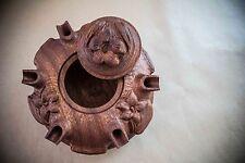 Coppa dell'amicizia 6 becchi stella - artigianato, legno - Grolla Valdostana