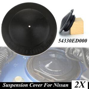 2x Suspension Strut Mount Cover 54330ED000 For Nissan Leaf ZE0 Juke F15 Cube Z12