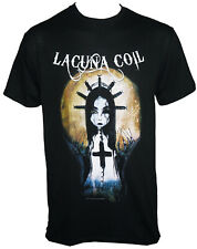 Authentic LACUNA COIL Band Syringe Girl T-Shirt S-2XL NEW