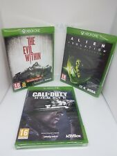 Lot Xbox one games sealed new alien isolation evil within call duty ghost