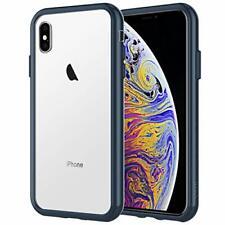 """Custodia iPhone XS Max 65"""" Cover Case con Assorbimento degli Urti Blu Marino"""