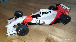 Ayrton Senna  Mc Laren Mercedes MP4/8  Umbau Mini........ Formel 1 1:18