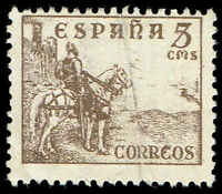 Scott # 664 - 1939 - ' El Cid '