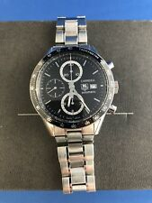 TAG HEUER CARRERA CV2010 calibre 16 Automatic Chronograph