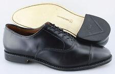 Men's ALLEN EDMONDS 'Park Avenue' Black Cap Toe Leather Oxfords Size US 10 - D