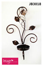 Wall Mounted Rustic Style Home Decor Decorative Metal Tree Candle Holder Jba3018