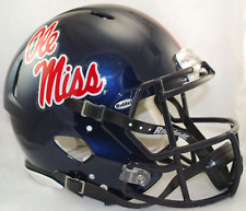 OLE MISS REBELS NCAA Riddell SPEED Authentic Football Helmet