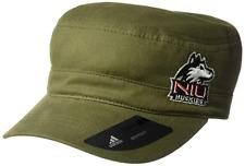 Northern Illinois Huskies NCAA adidas Army Green Military Hat Womens Cap Green