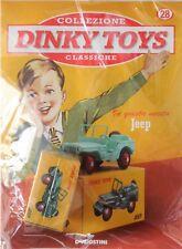 DINKY TOYS JEEP WILLYS 25 J MINIATURE VINTAGE 1:43 CAR MODEL DE AGOSTINI FRANCE