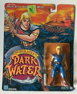 VINTAGE PIRATES OF DARK WATER REN ACTION FIGURE HASBRO 1990 NEW