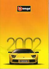 Burago 2002 Catalogue