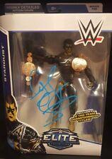 Cody Rhodes Stardust Signed WWE Elite 36 ROH NJPW Bullet Club