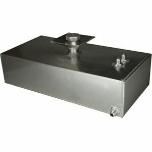 OBP 8 Gallon Square Aluminium JIC Fuel Tank with Splash Bowl (OBPFTSBJIC006)