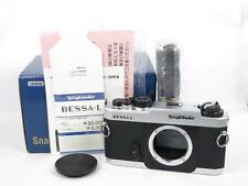 Voigtlander Bessa L Rangefinder Film Camera - SILVER BOXED FREE SHIPPING JAPAN