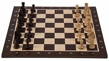 SQUARE - Pro Wooden Chess Set No. 5 - AMERICA - Chessboard & Chess Pieces