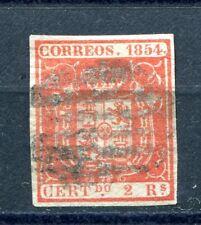 1854.ESPAÑA.EDIFIL 25 (oder) .usado.firmado Cajal.cat