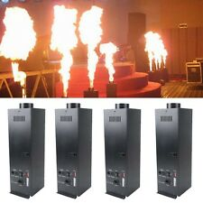 4Pcs DMX Fire Effect Projector Spray Machine DJ Stage Show Party Flame Thrower