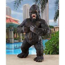 "Great Ape Monster Giant Gorilla Design Toscano 25"" African Animal Garden Statue"