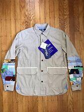 NWT Junya Watanabe Comme des Garçons MAN Patchwork Shirt Jacket - Medium