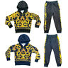 Boys Kids Tracksuit Baroque Print Hoodie Joggers Jogging Bottoms Outfit Set