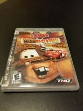 Cars: Mater-National Championship  -- Sony Playstation 3 PS3 -- C+ CONDITION