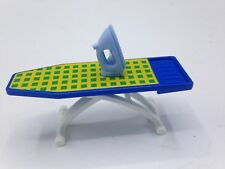 Playmobil accessories BLUE IRON + COLLAPSIBLE IRONING BOARD