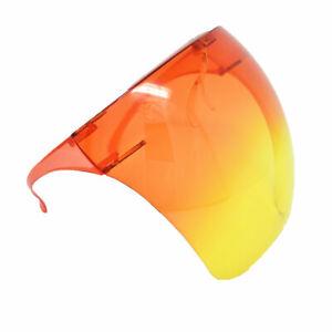 Clear Face Shield Glasses Face Mask Transparent Reusable Visor Anti-Fog Dust USA