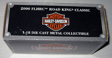 2000 FLHRC Road King Classic 1:18 Die Cast Metal  Harley Davidson Motorcycle