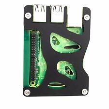 Zebra Bio Black Lime Case for the Raspberry Pi 3, Pi 2, and Pi B+ ~ by C4Labs