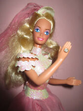 B562) vieja rubio vintage Ice Capades barbie #7365 mattel 1990 ropa completa
