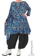 PoCo LAGENLOOK Tunika Long-Shirt Kleid L-XL-XXL-XXXL 44 46 48 50 52 54 56 58