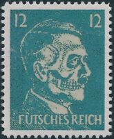 Stamp Replica Label Germany 0097 WWII German Fuhrer Mock Hitler USA Forgery MNH