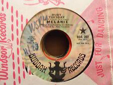 "Melanie - Merry Christmas / Ruby Tuesday  7"" 45 Record"