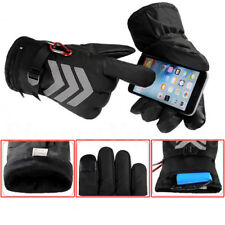 7.4V Waterproof Heated Gloves Battery Powered Motorcycle Hunting Winter Warmer