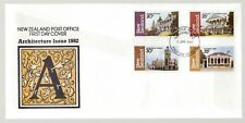New Zealand 1982 FDC Architecture 3rd Series
