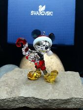 New! Colored Mickey Mouse Disney Swarovski Crystal Figurine Christmas ornament