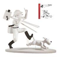 Figurine Tintin Milou Director/Producer In Congo Moulinsart Herge Hors Serie N 4
